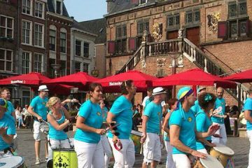 Outra Vez bij het Sambafestival Nijmegen