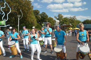 Outra Vez tijdens het Sambafestival Nijmegen 2018
