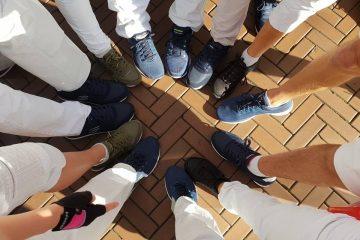 Outra Vez op Skechers schoenen