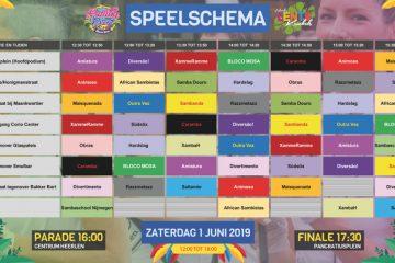Schema Sambafestival Heerlen